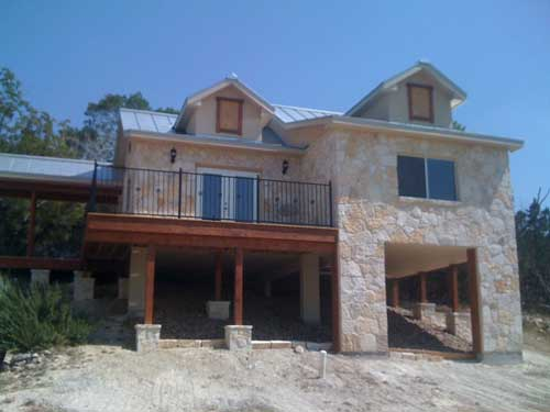 Hillside Home Construction