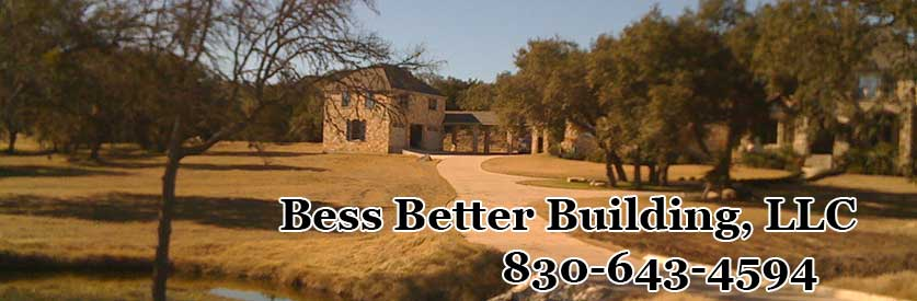 Canyon Lake Home Builder Contractor Custom Homes header image